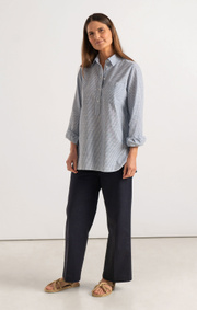 Boomerang - PETRA POP OVER SHIRT - Blue nile