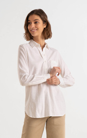 Boomerang - PETRA POP OVER SHIRT - White