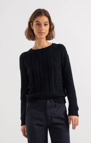 Boomerang - LOPPAN SWEATER - Midnight blue