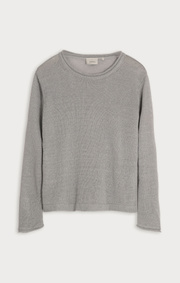 Boomerang - LOLLO LINEN SWEATER - Ash