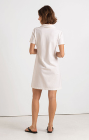 Boomerang - HANNA PIQUET DRESS - White