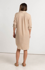 Boomerang - BEA LINEN DRESS - Panama