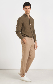 Boomerang - LINUS LINEN SHIRT - Urban jungle