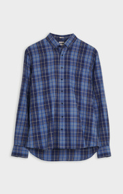Boomerang - WILMER CHECK SHIRT - Midnight blue