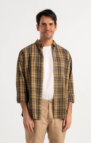 Boomerang - WILMER CHECK SHIRT - Dust