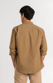 Boomerang - PETER POPLIN SHIRT - Dust