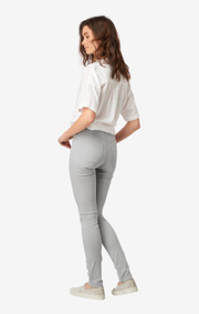 Boomerang - Anna stretch jeans - Lt grey melange