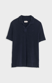 Boomerang - TERRY VACAY POLOSHIRT - Night sky