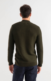 Boomerang - ALBIN HALF ZIP SWEATER - Urban jungle