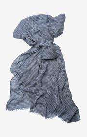 Selena mesh print scarf