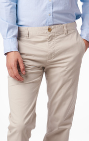 Boomerang - STEVE SATIN CHINO - Putty