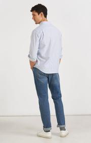 Boomerang - Nyhet! PAUL OXFORD STRIPE REGULAR FIT SHIRT  - Ice blue