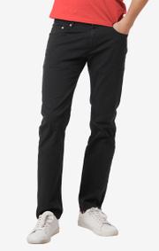 Boomerang - Oscar overdyed 5-pocket pants - Charcoal