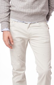 Boomerang - OSCAR OVERDYED 5-POCKET PANTS - Putty