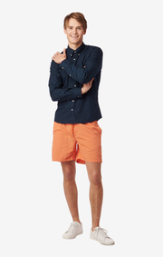 SHIRT ORGANIC OXFORD TRIM FIT B.D. Blackish navy