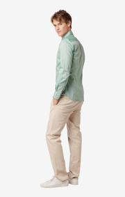 SHIRT ORGANIC OXFORD TRIM FIT B.D.