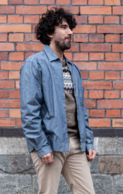 Boomerang - TECHNICAL OVERSHIRT - Indigo
